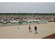 Der Hafen am Zwenkauer See