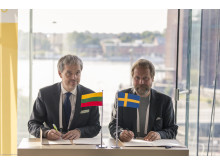 Sweden and Lithuania sign Memorandum of Understanding