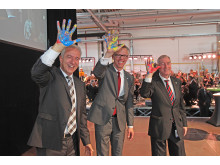 Expansion Johnson Controls Plant Zwickau_Celebration