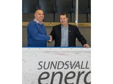 Samarbetsavtal med hockeygymnasiet och Sundsvall Hockey