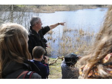 Vandring: Vårtecken med jourhavande biolog