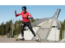 Fanny Horn Birkeland trening Holmenkollen
