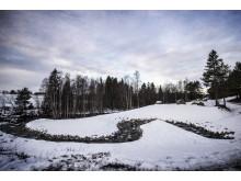 Förbifart Billsta - omlöp vinter 2