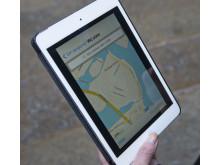 Kartfunktion i appen