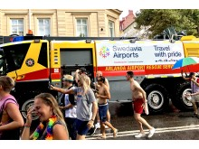Brandbil från Swedavia Airports - Pride