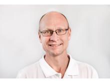 Stefan James,  thoraxkirurg, expert på PCI
