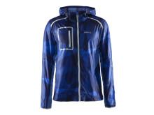 Focus hood jacket (herr) i färgen geo view