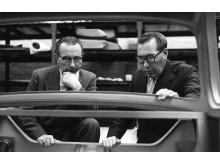 DAFs grundare Hub och Wim van Doorne- 60- talet