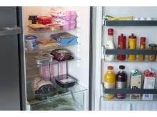 Hvor i kjøleskapet bør maten stå?
