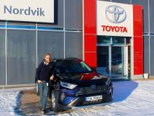 Rekordhøy Toyota-etterspørsel i februar
