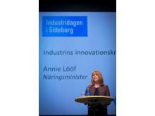 Annie Lööf på Industridagen 2013