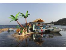 Urlaubsstimmung auf der Karibikinsel