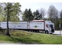 Sveriges första 75-tons flisfordon