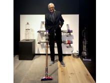 James Dyson am Launch Event vom Dyson Cyclone V10