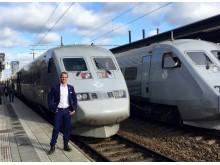 SJs affärschef Petter Essén vill på sikt utöka antalet platser med 50 procent.