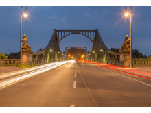 Glienicker Brücke - spionbroen utenfor Berlin