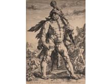 Hendrick Goltzius, Den store Herkules, 1589