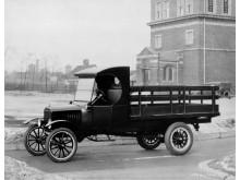 1924 Ford Model TT stake bed truck neg 39952