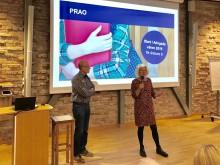 Marianne Lindfors och Hans Svensson, praktikplatssamordnare.