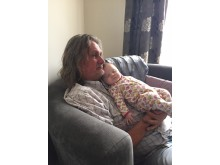Carl O'Brien with granddaughter Lily