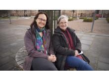 Pernilla Garmy och Anita Bengtsson Tops