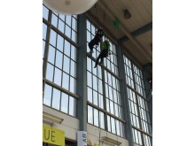 Swedish ropen, delmomentet speed climb