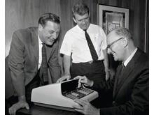 HP historie - våre grunnleggere Bill Hewlett og Dave Packard