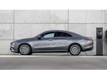 Mercedes-Benz CLA Coupé som laddhybrid