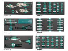 Blanka hylsor och specialkomponerade verktygsset från Kamasa Tools