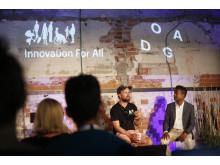 Innovation for All 2018: Johan Brand og Rama Gheerawo