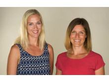 Lisa Flink och Camilla Oldberg på Creo Hälsa