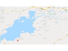 Karta - Sundsstrand