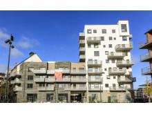 Kvarteret Sjöfararen, Västra hamnen, Malmö, Riksbyggen