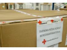 Bring är beredskapsparter till Svenska Röda Korset