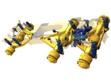 Aktiv hydraulisk fjädring - dumper (full suspension)