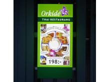 menyskåp Orkide