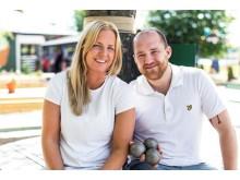 Malin Johansson & Emil Axelsson Boulebar Örebro