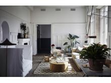 En hemitik fylld till brädden med konst, möbler, textilier och detaljer.  Ett hem! Artilleriet Studio stod mellan 13/5-30/10 2016.