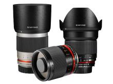 Samyang 300mm & 16mm gruppbild