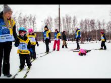 Alla på snö Östersund