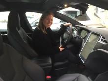 Miljöbästa Bil 2016 - Tesla Model S - Johanna Grant, ordförande i Gröna Bilister