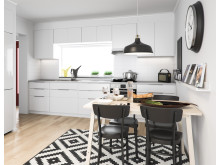 BoKlok lägenhet kök