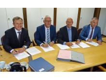 Unterschrift Energienetze Großostheim