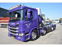 Ny topudstyret kranbil til Stenberg
