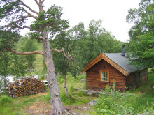 Gærbethytta i Troms Foto: Tore Bjørnstad