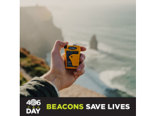 Hi-res image - Ocean Signal - 406Day raises awareness about the benefits of 406 MHz emergency beacons