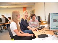 Ungdomar bygger Umeå i 3D