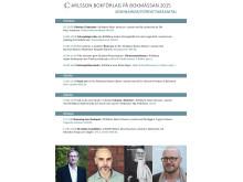 Carlsson Bokförlag på Bokmässan - författarsamtal och seminarier