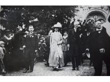 Svenska Mässan invigdes av Gustav V och drottning Viktoria den 8 juli 1918.