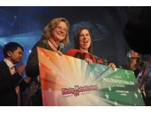 Väsby melodifestival 2012. Vinnaren får pris